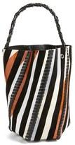 Proenza Schouler 'Large Hex' Whipstitch Bucket Bag - Black