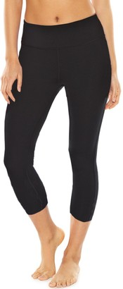 Gaiam Women's Om Yoga Moisture-Wicking Capri Leggings