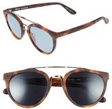 Revo Men's Buzz Retro 52Mm Sunglasses - Honey Matte Tortoise/ Blue