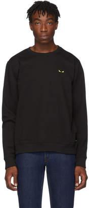 Fendi Black Bag Bugs Long Sleeve T-Shirt