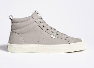 Cariuma OCA High Cloud Grey Suede Sneaker Women