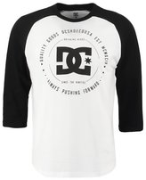 Dc Shoes Rebuilt Long Sleeved Top Snow White