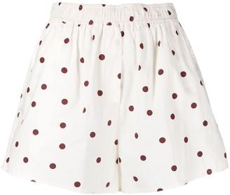 Ganni Polka Dot Shorts