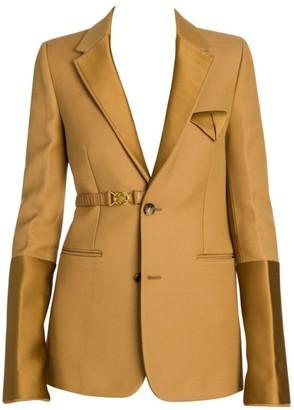 Bottega Veneta Compact Dry Wool-Blend Belted Tuxedo Jacket