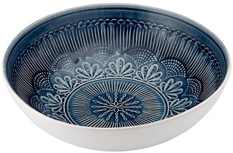 Ladelle Nadia Navy Salad Bowl