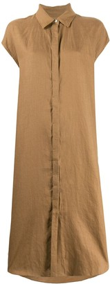 MACKINTOSH Borgue linen midi dress