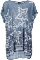 Izabel London Star Print Smock Top