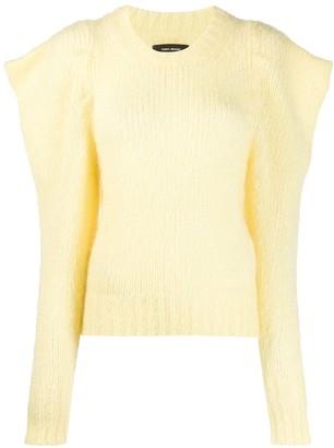 Isabel Marant Ivelyne puff sleeve jumper