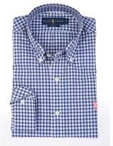 Ralph Lauren Men's Blue Cotton Shirt.