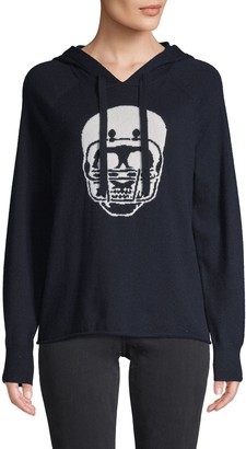 360 Sweater Skull Cashmere Hoodie