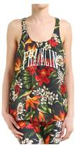 Franklin & Marshall Women's Multicolor Viscose Tank Top.