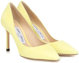Jimmy Choo Exclusive to Mytheresa Romy 85 suede pumps