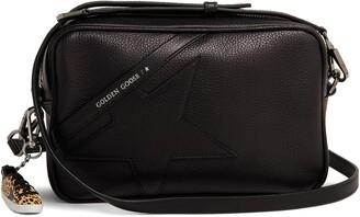 Golden Goose Star Leather Camera Bag