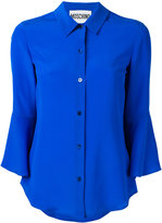 Moschino flared sleeve shirt - women - Silk - 40