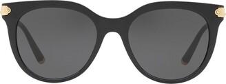 Dolce & Gabbana Eyewear round tinted sunglasses