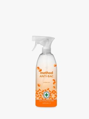 Method Products Anti-Bac Cleaning Spray, Orange Yuzu, 828ml