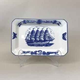 By Mutti - & White Porcelain Platter 34cm