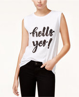 Rachel Roy Yes Graphic Tank Top, Only at Macy's