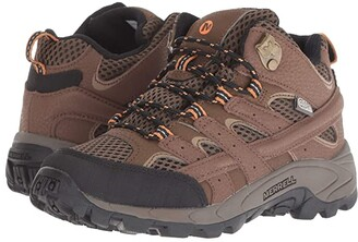 Merrell Moab 2 Mid A/C Waterproof (Little Kid) (Earth) Boys Shoes