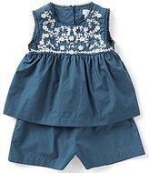 Ralph Lauren Baby Girls 3-24 Months Embroidered Romper