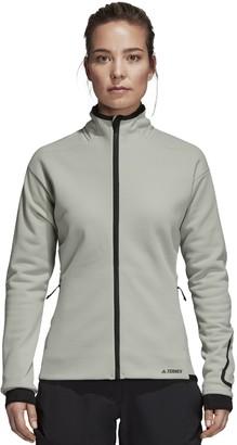 adidas Women's Outdoor Climaheat Ultimate Fleece Jacket