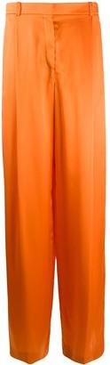 Nina Ricci Vibrant Wide-Leg Trousers