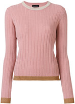 Roberto Collina ribbed sweater - women - Nylon/Polyester/Acetate/Wool - XS