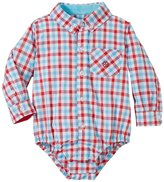 Andy & Evan Gingham Shirtzie (Baby) - Red 18-24 Months