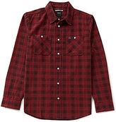 RVCA Trample Plaid Long-Sleeve Shirt