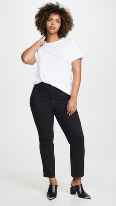 Good American Good Curve Straight Jeans