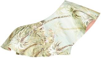 Juan de Dios Sunset Waves One-Shoulder Bikini Top