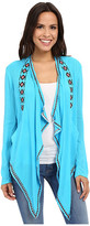 Rock and Roll Cowgirl Long Sleeve Cardigan B4-6199