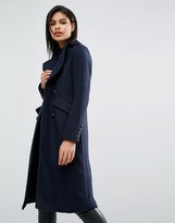 Vero Moda Military Style Tailored Coat
