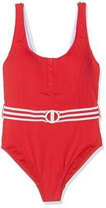 Seafolly Women's Tank Malliot Swimming Costume, Red Chilli, (Size: 10)