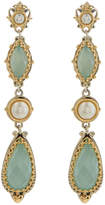 Konstantino Amphitrite Agate & Pearl Dangle Earrings