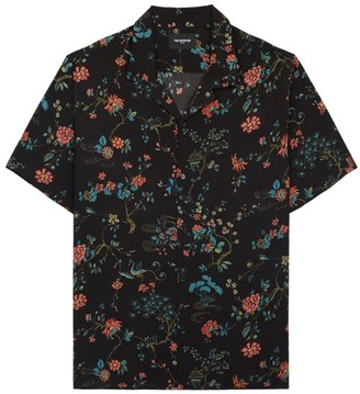 The Kooples Floral Camp Shirt