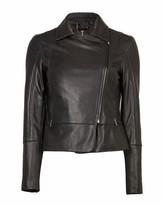 Ted Baker Mandyy Leather Biker Jacket