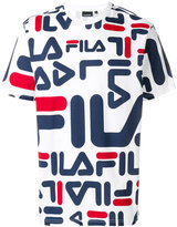 Fila all over logo T-shirt