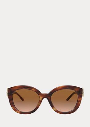 Ralph Lauren Buckle Butterfly Sunglasses