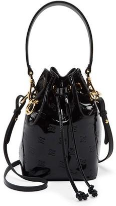 Fendi Mini Mon Tresor Patent Leather Bucket Bag