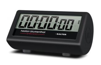 Salter Heston Blumenthal Indoor Outdoor 3 In 1 Timer - Black