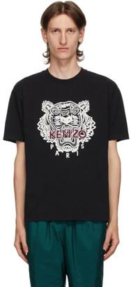 Kenzo Black Tiger Skate T-Shirt