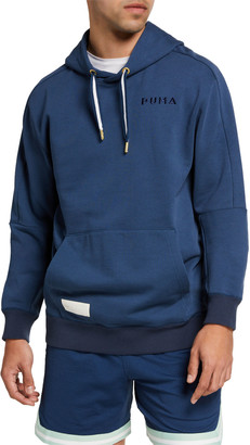 Puma Men's Tear Drop Terry Hoodie Sweatshirt