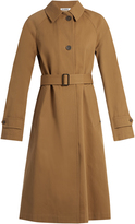 Jil Sander Croquet single-breasted cotton trench coat
