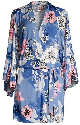 In Bloom While You Were Sleeping Floral Robe