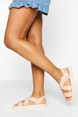 boohoo Chunky Footbed Sandals