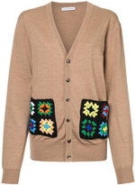 J.W.Anderson patchwork detail cardigan