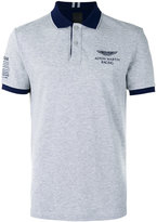 Hackett chest print polo shirt - men - Cotton - XL