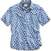 Sperry Diamond Print Button Down Shirt