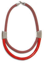 Orly Genger by Jaclyn Mayer Roxbury Poppy Necklace